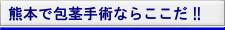 熊本市で包茎手術ならここだ!!
