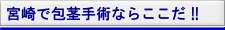 宮崎市で包茎手術ならここだ!!