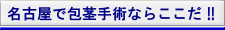 名古屋市で包茎手術ならここだ!!